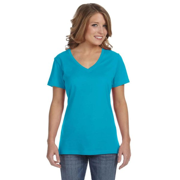 anvil_392a_ladies_3-2oz_sheer_v-neck_t-shirt