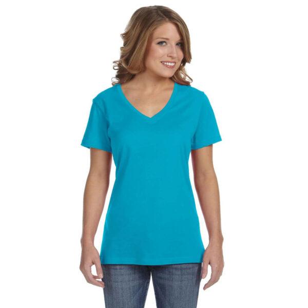 anvil_392a_ladies_3-2oz_sheer_v-neck_t-shirt