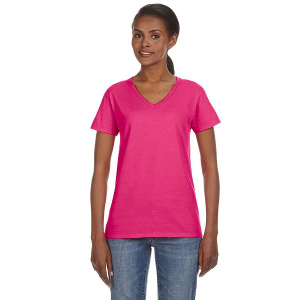 anvil_missy-fit_88vl_4-5_oz_ladies_lightweight_v-neck_t-shirt