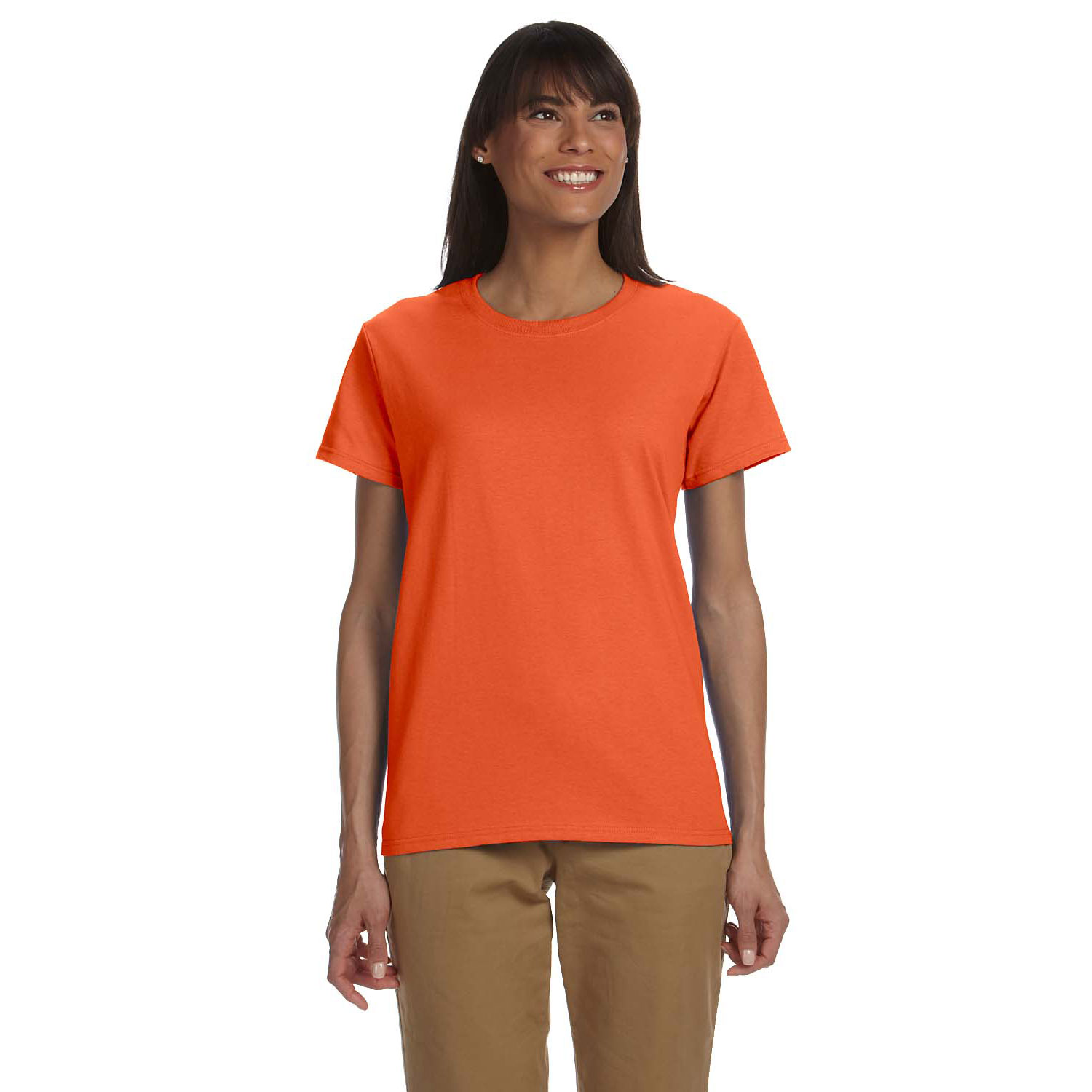 Gildan 200l 6 0 oz ultra cotton ladies t shirt 4c print shop for Gildan t shirts online