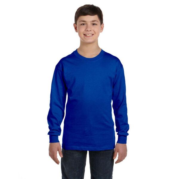 gildan_540b_5-3_oz_heavy_cotton_youth_long_sleeve_t-shirt