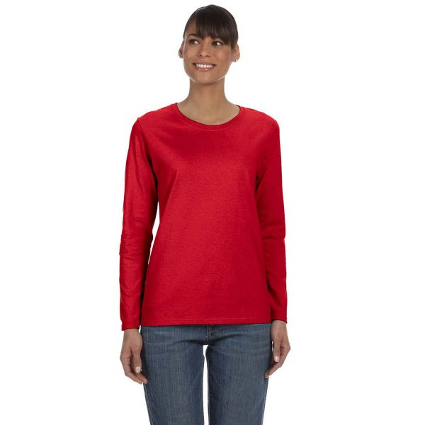 gildan_540l_5-0_oz_ultra_cotton_long_sleeve_ladies_t-shirt